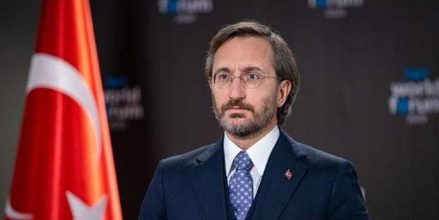 """Cumhurbaşkanlığı İletişim Başkanı Fahrettin Altun """"Türki Lala"""" dizisinin yapımcılarıyla bir araya geldi"""