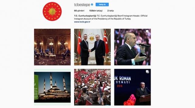 Cumhurbaşkanlığı Instagram hesabı