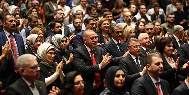 Cumhurbaşkanlığı Senfoni Orkestrası'nda yeni sezon açılışı yapıldı! Erdoğan da katıldı