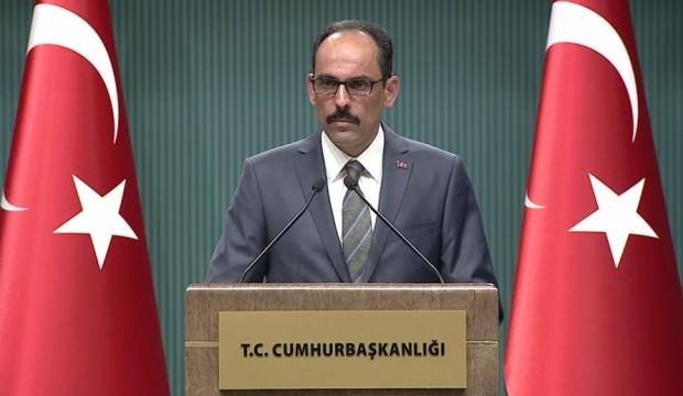 Cumhurbaşkanlığı Sözcüsü Kalın'dan bedelli askerlik açıklaması