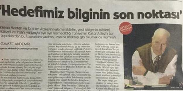 Cumhuriyet Gazetesi şaşırtmadı! Skandal kitabın reklamını yaptılar
