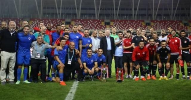 Cumhuriyet Kupası Kasımpaşa'nın