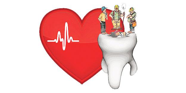 Çürük diş kalp krizini tetikliyor