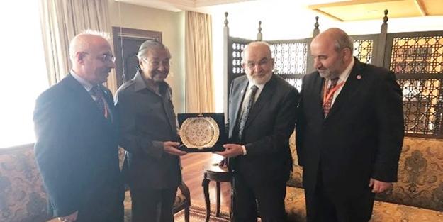 D-8 liderlerinden Mahathir Muhammed'e ziyaret