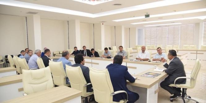 Bilecik Belediyesi Haftalık İstişare Toplantısı