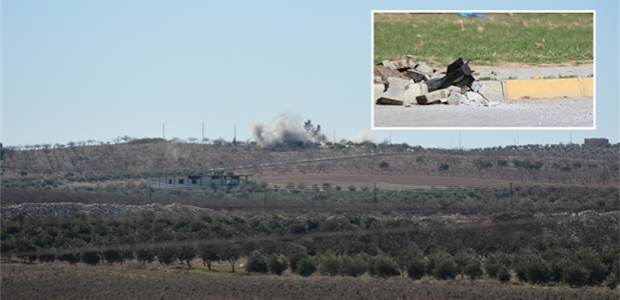 Sınırda Türk askerine ateş açıldı