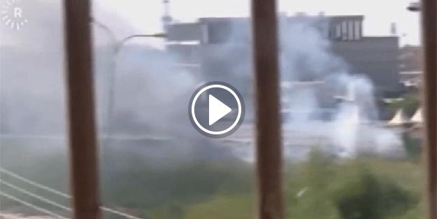 DAEŞ Kerkük'e saldırdı... Çatışma anları kamerada...