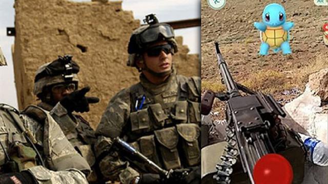 DAEŞ'le savaşan ABD'li askerden Pokemon paylaşımı