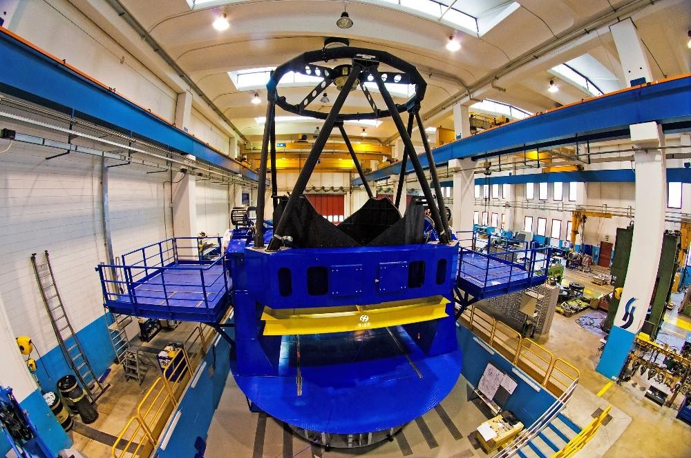 DAG Teleskobuna yönelik bir proje daha başarıyla tamamlandı