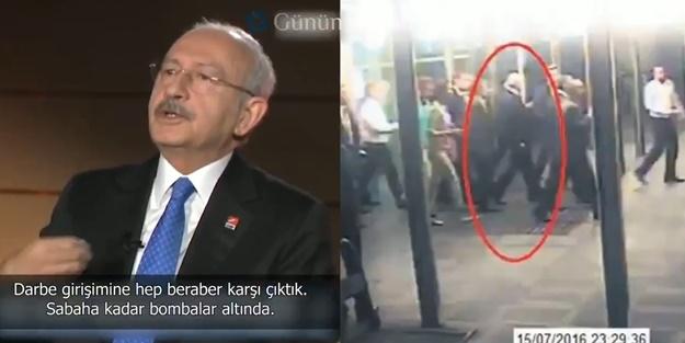 Darbe girişimi sırasında kahve yudumlayan Kılıçdaroğlu'ndan