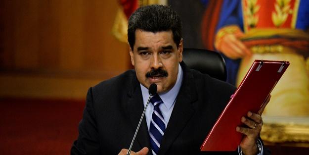 Darbe girişimi sonrası Maduro'dan ABD kararı