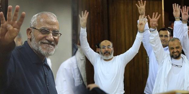 Darbeci Sisi mahkemesinden İhvan yöneticilerine müebbet hapis!