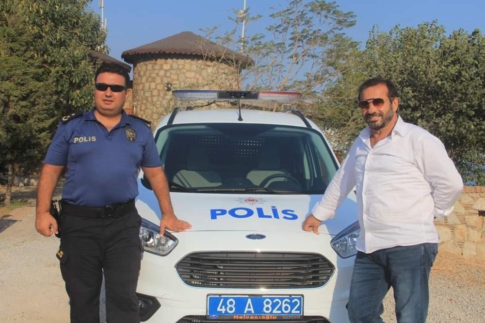 Datça polisine araç desteği
