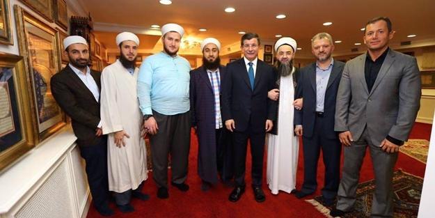 Davutoğlu, Cübbeli Ahmet Hoca'yı ziyaret etti