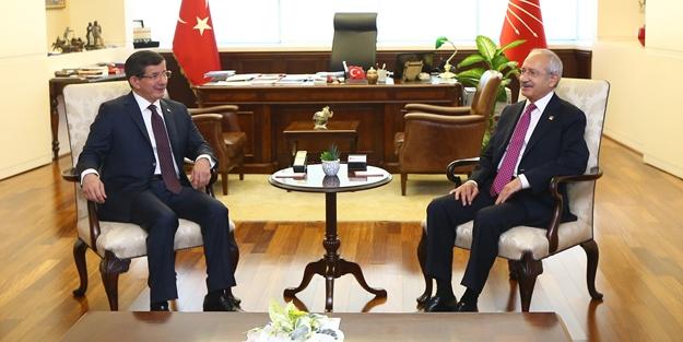 Davutoğlu Kılıçdaroğlu görüşmesi sona erdi