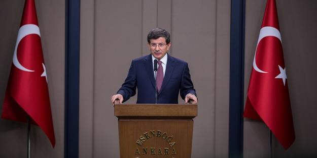 Davutoğlu TOBB toplantısında konuştu