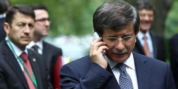 Davutoğlu'ndan Elçi'nin eşine taziye telefonu