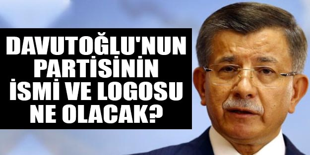 Davutoğlu'nun partisinin ismi ne olacak? Ahmet Davutoğlu'nun partisinin logosu ne?