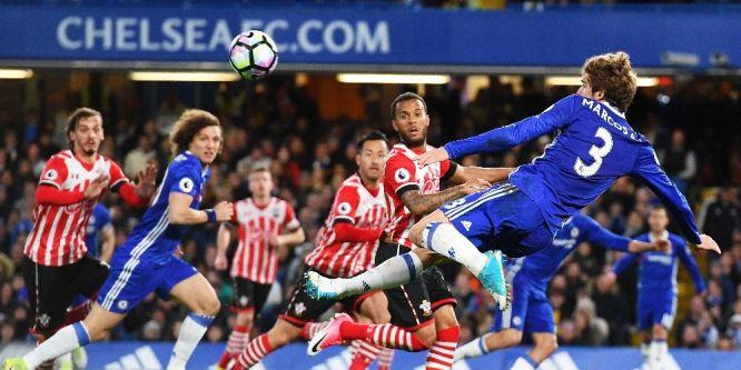 Chelsea'den müthiş galibiyet