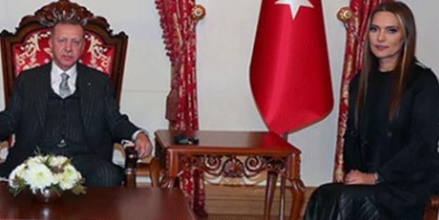 Demet Akalın'dan Başkan Erdoğan'a övgü dolu sözler