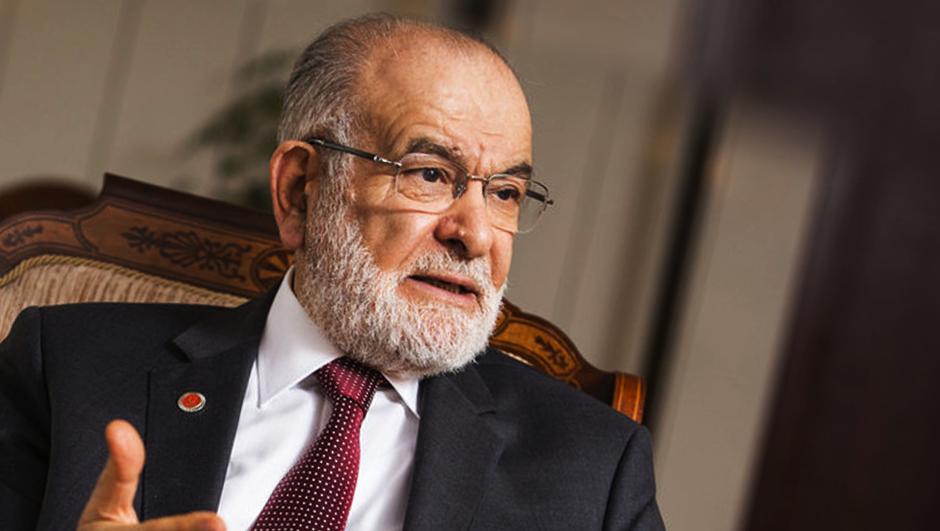 Demirtaş'a özgürlük isteyen Karamollaoğlu Ahmet amcaya ses çıkarmıyor