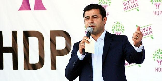 Demirtaş'tan TSK'ya küstah çağrı!