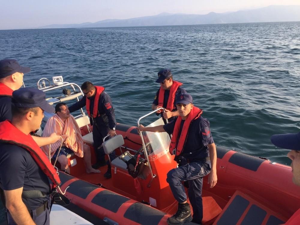 Denizde kaybolduktan 12 saat sonra sağ bulunan Yaman Şıpka konuştu: