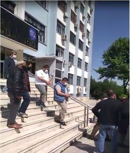Denizli'de 4'ü ceza evi firarisi 5 şahıs polis tarafından yakalandı
