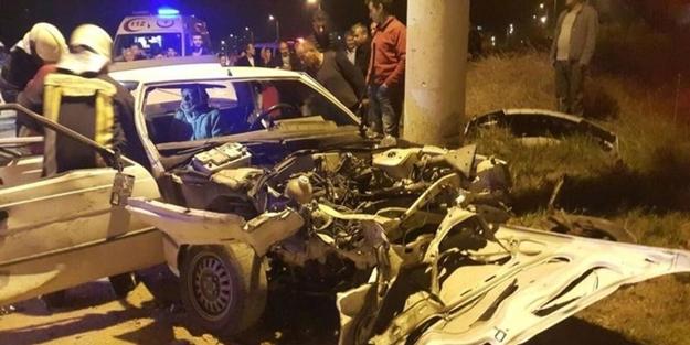 Denizli'de feci kaza: 1 ölü, 11 yaralı