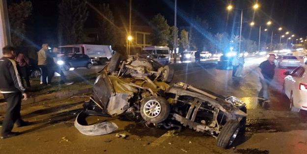 Denizli'de feci kaza! 3 kişi öldü
