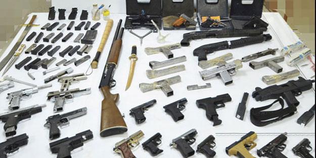 Denizli'de kaçak silah atölyesine operasyon!