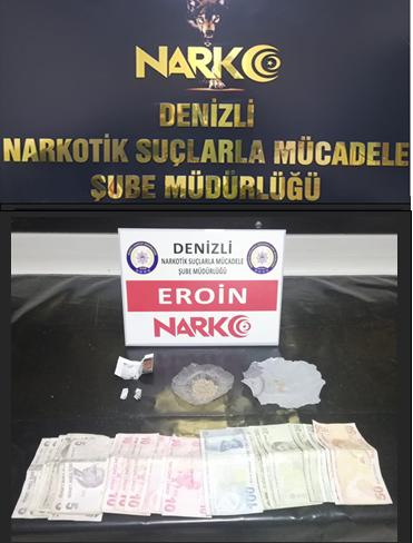 Denizli'de uyuşturucu operasyonlarında 4 kişi tutuklandı