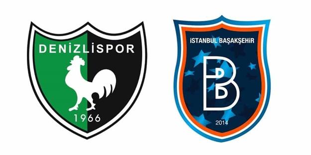 Denizlispor Başakşehir maçı muhtemel 11'leri