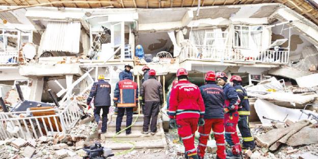 Deprem bir afettir ve bir gün kapımızı çalacaktır
