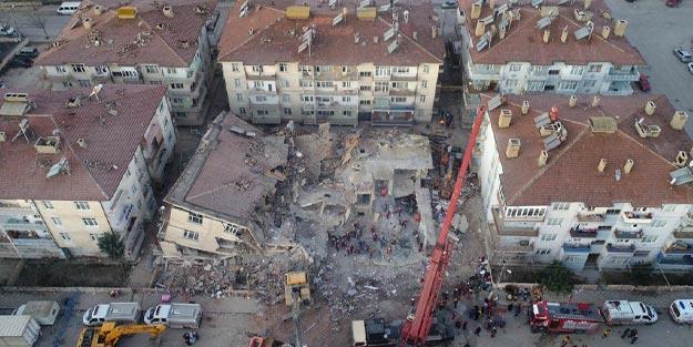 Deprem bölgesinde kaç bina hasarlı?