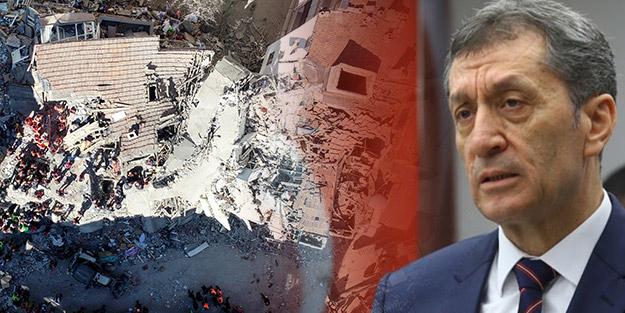 Deprem bölgesindeki okulların durumu nasıl? Milli Eğitim Bakanı Ziya Selçuk resmen açıkladı