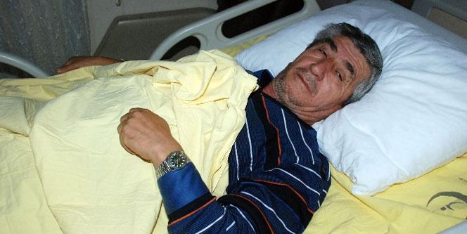 Tokat'taki depremde yaralandı