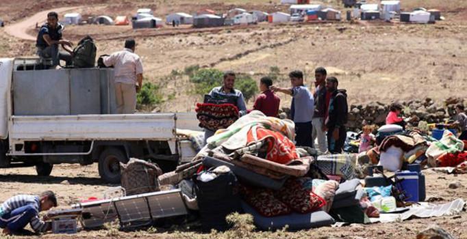 'Deraa'daki çatışmalar 50 bin kişiyi yerinden etti'