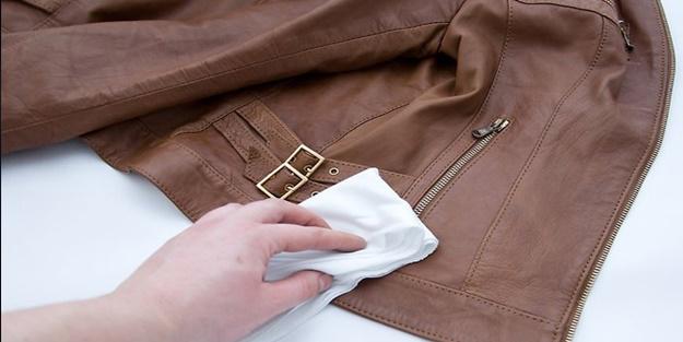 Deri ceketler nasıl temizlenir?