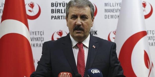 Destici'den ABD'ye net mesaj: Türkiye diz çökmez!