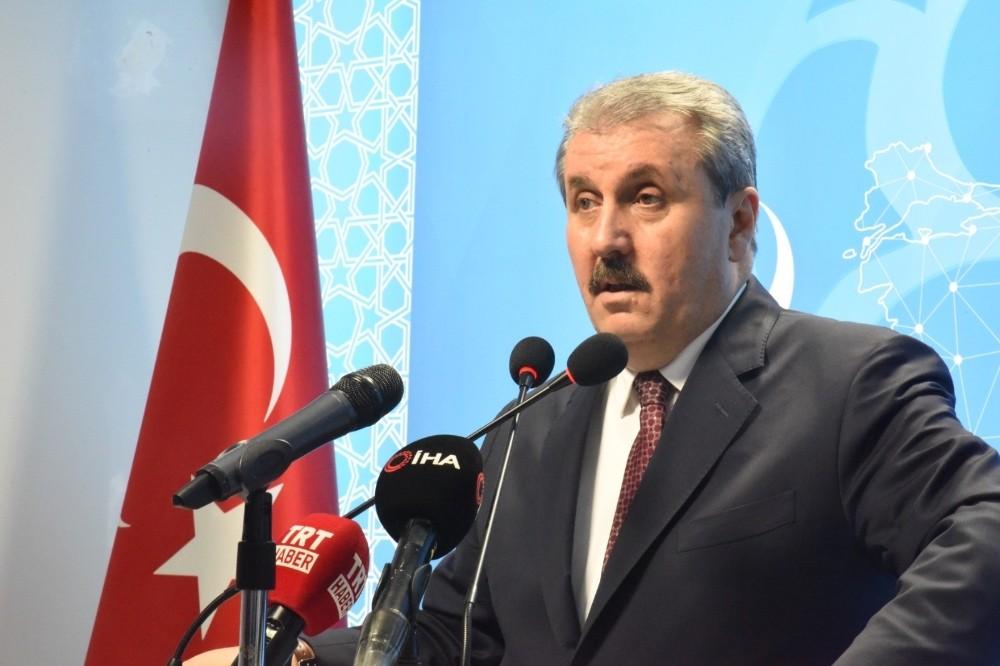 """Destici'den İmamoğlu'na sert çıkış: """"Oradaki meclisi yok saymak kimsenin haddi olmamalıdır"""""""