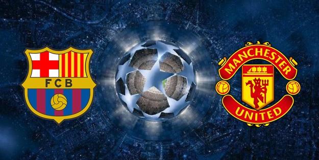 Devler Ligi'nde dev eşleşme! | Barcelona Manchester United Şampiyonlar Ligi maçı ne zaman?
