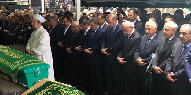 O parti lideri Gül'ün cenaze törenine katılmadı