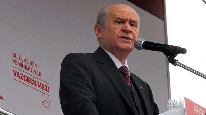 Devlet Bahçeli: Bir MHP'li Feyzioğlu'yla neden dolaşır ki?