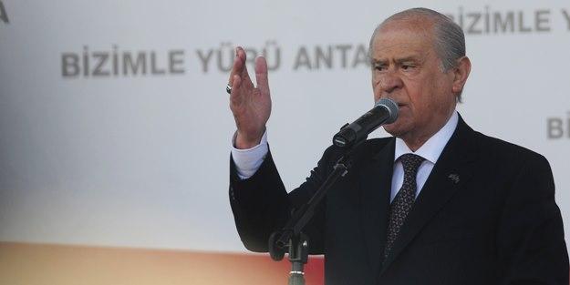 Devlet Bahçeli'den MHP'lilere şok tehdit