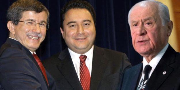 Devlet Bahçeli'nin yeni parti sözlerine Ali Babacan ve Ahmet Davutoğlu cephesinden cevap