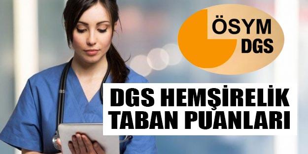 DGS puanları hemşirelik