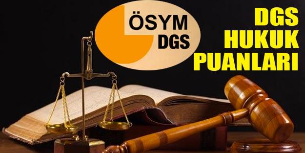 DGS puanları Hukuk 2019 kontenjanları