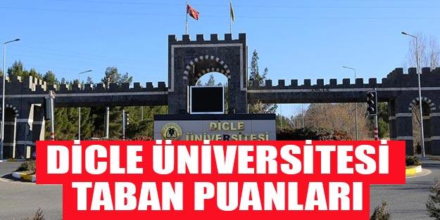 Dicle Üniversitesi taban puanları 2019