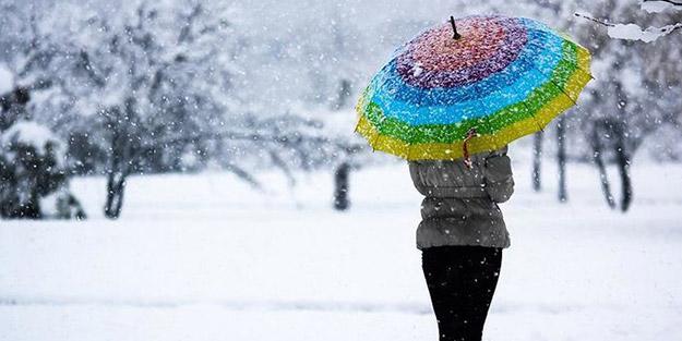 Dikkat! Meteoroloji uyardı: Kar kapıya dayandı